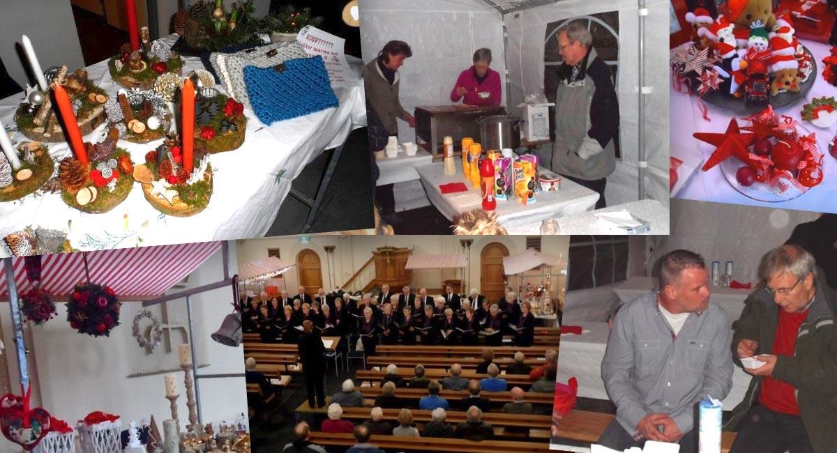 Terugblik wintermarkt IJsseldijkkerk december 2016