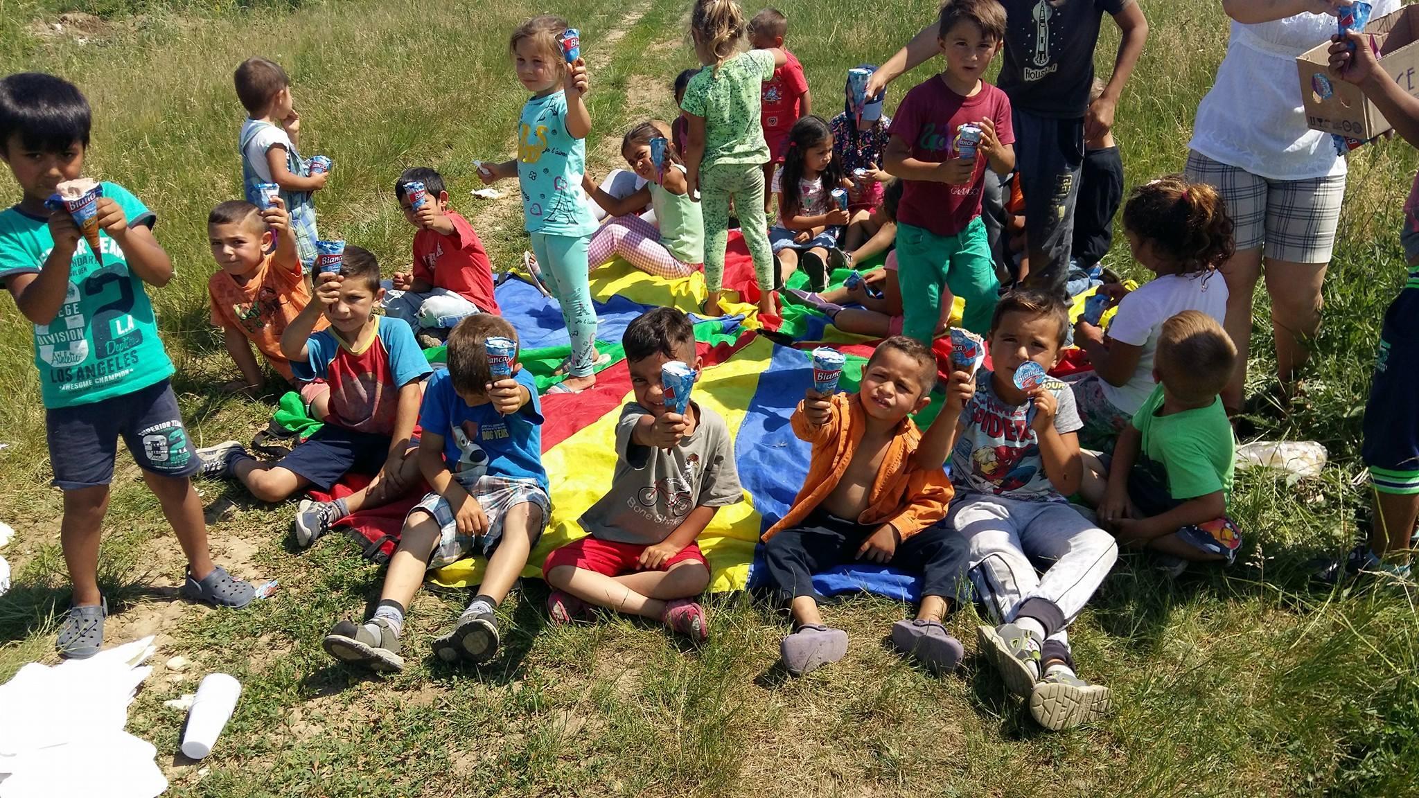 Stichting Roma kinderen Glodeni Roemenië