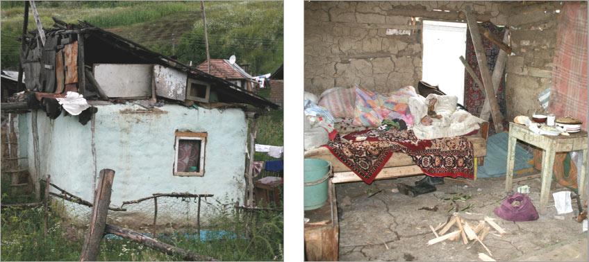 Erbarmelijke leefomstandigheden van de Roma in Roemenië